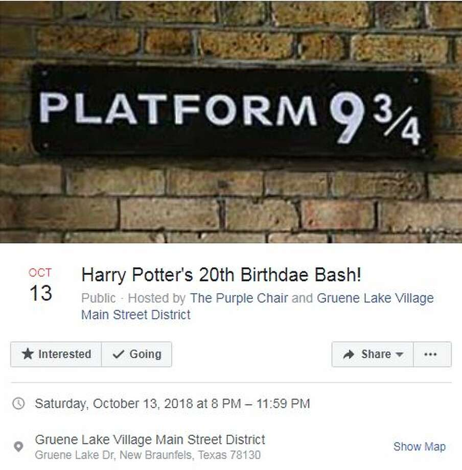 Harry Potter's 20th Birthdae Bash