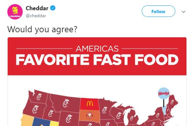 A tweet that dug up an old study crowning In-N-Out burger the fast food king of Texas made some locals angry over the weekend.