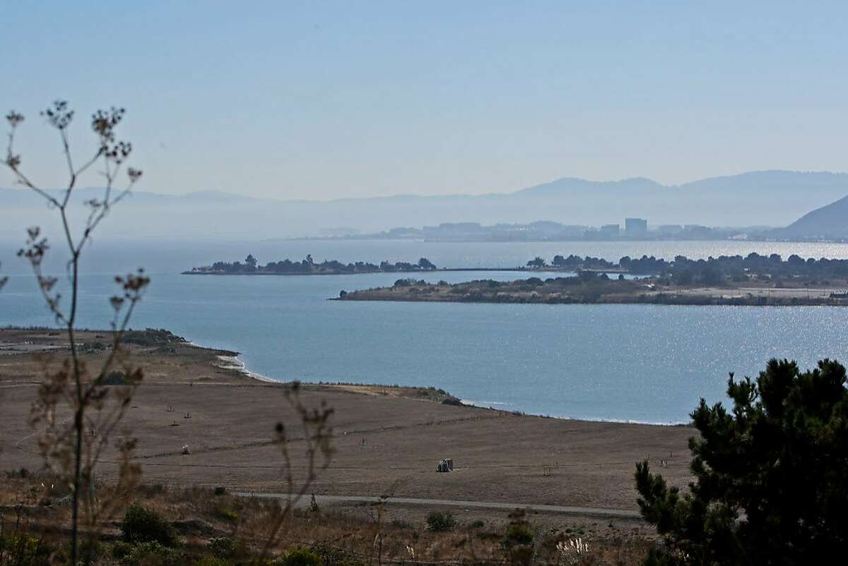 The Candlestick State Recreation Area is seen from the Bayview neighborhood in San Francisco, Calif. on Friday, Oct. 18, 2013.
