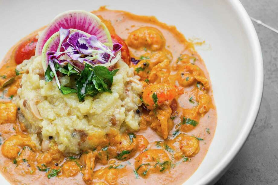 """7.PondicheriUpper Kirby   Cuisine: Indian   Allison Cook's thoughts: """"The ever-mutating menu — which moves through breakfast to lunch, happy hour to dinner — seldom fails to show me something new..."""" Photo: Nick De La Torre, Owner / de la Torre Photos, LLC"""