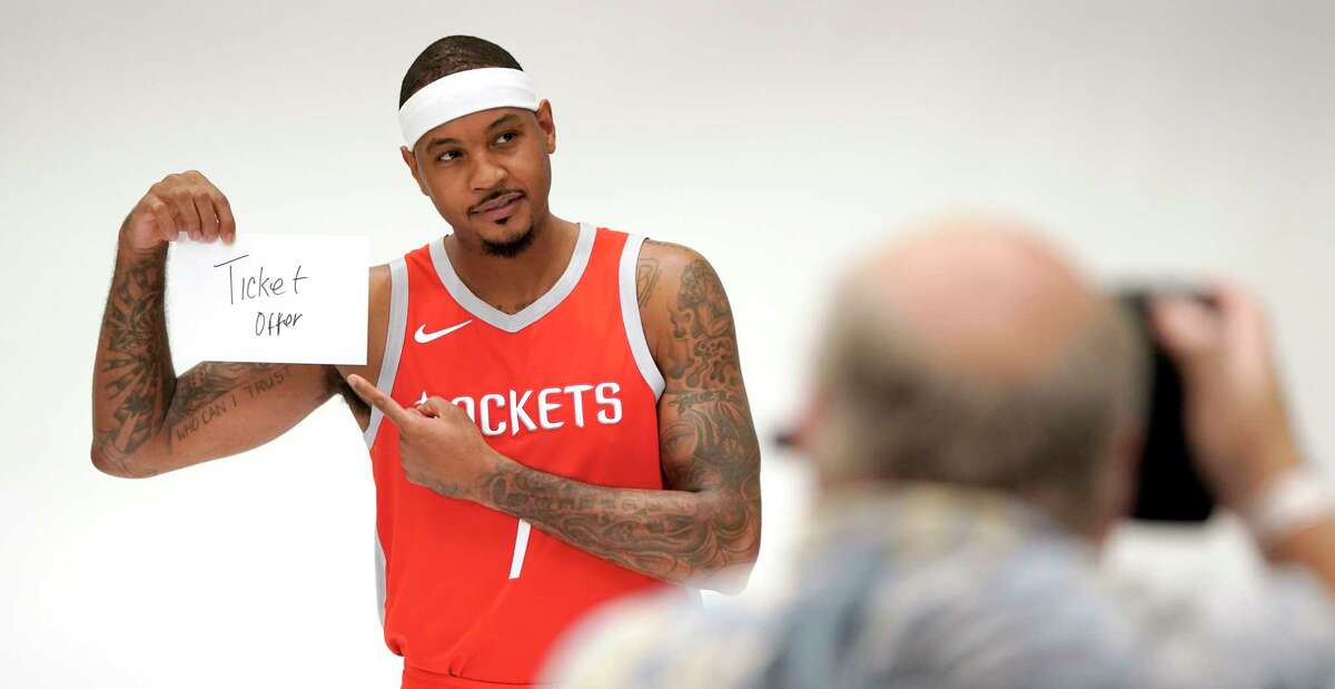 CARMELO ANTHONY, wing We all know Carmelo. Ten-time All-Star, six-time member of an All-NBA Team, 19th on the NBA's all-time scoring list. The question is how will the 34-year-old Anthony fit in with his new team.