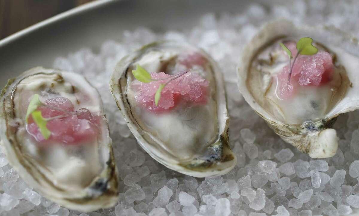 Massacre Island oysters at Riel