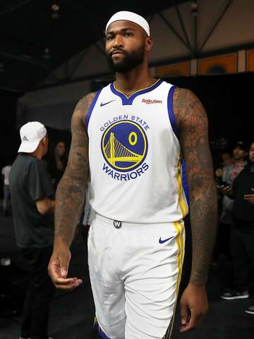 finest selection 2a3d3 fb775 Warriors' DeMarcus Cousins vows to be better after Achilles ...