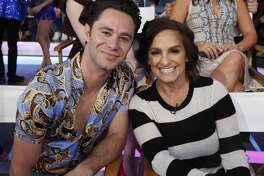 """GOOD MORNING AMERICA - The cast of Season 27 of """"Dancing With the Stars"""" is revealed live on """"Good Morning America,"""" Wednesday, September 12, 2018 on ABC. (Photo by Lou Rocco/ABC via Getty Images) SASHA FARBER, MARY LOU RETTON"""