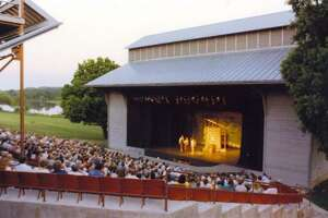 The kickoff concert . Friday night concert at the Point Theatre, seen here, will feature Matt Nokoa, a 2014 Grassy Hill Kerrville New Folk winner from New York, and the classically trained trio Harpeth Rising, accompanied by a 25-piece chamber ensemble from Kerrville's Symphony of the Hills, conducted by Gene Dowdy.