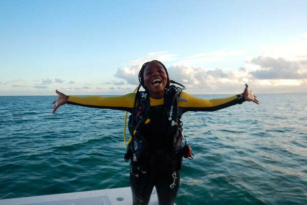 Marine biologist Nicola Smith, from the Bahamas, is this year's recipient of the $100,000 Bullitt Environmental Prize, an award announced at a Bullitt Foundation dinner on Monday night.