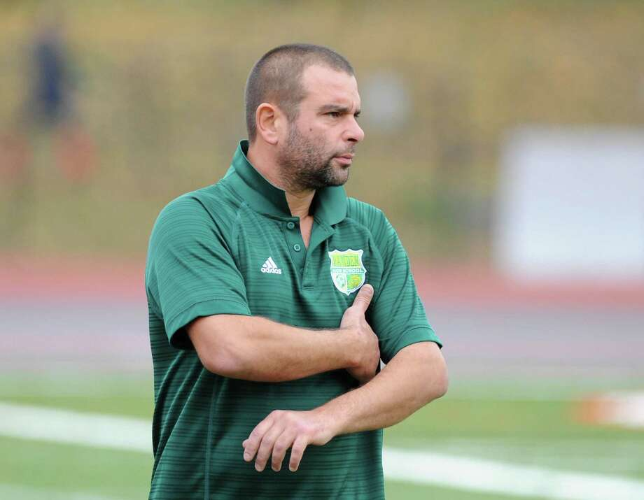 Hamden boys soccer coach Raffaele Romano. Photo: Tyler Sizemore / Hearst Connecticut Media File Photo / Greenwich Time