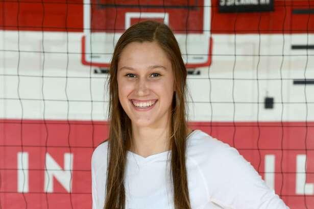 Fredericksburg volleyball player Rose Stuewe