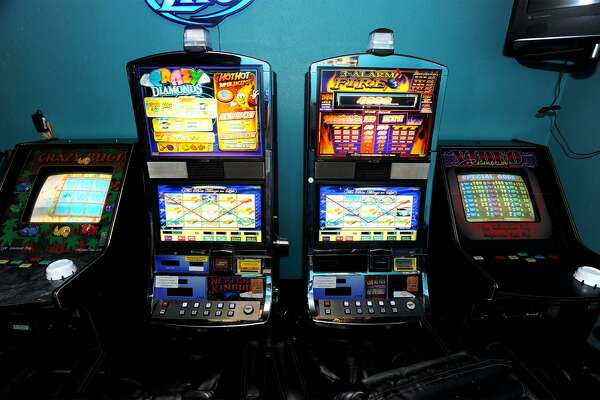 Eight-liner machines at Embers Club in Nederland. Photo taken Wednesday, July 30, 2014 Guiseppe Barranco/@spotnewsshooter
