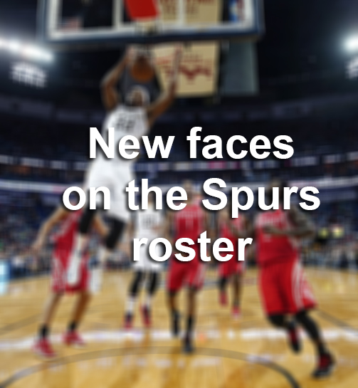 New Names On The Spurs Roster For The 2018 2019 Season