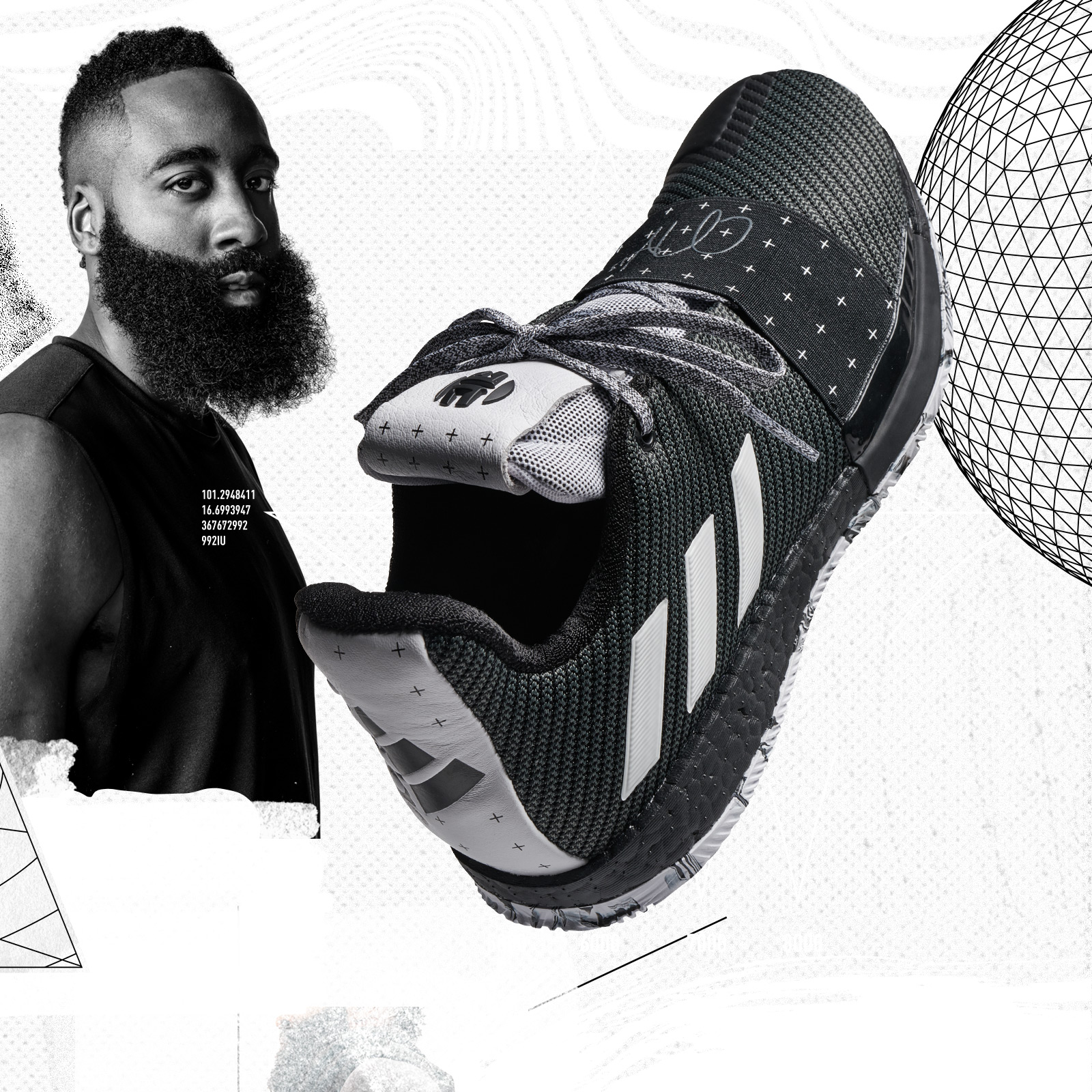 6de7687bcc29 Adidas announces James Harden s new signature shoe ...