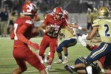 Martin High School and Alexander High School face off at Shirley field on Thursday, Sept. 20, 2018.