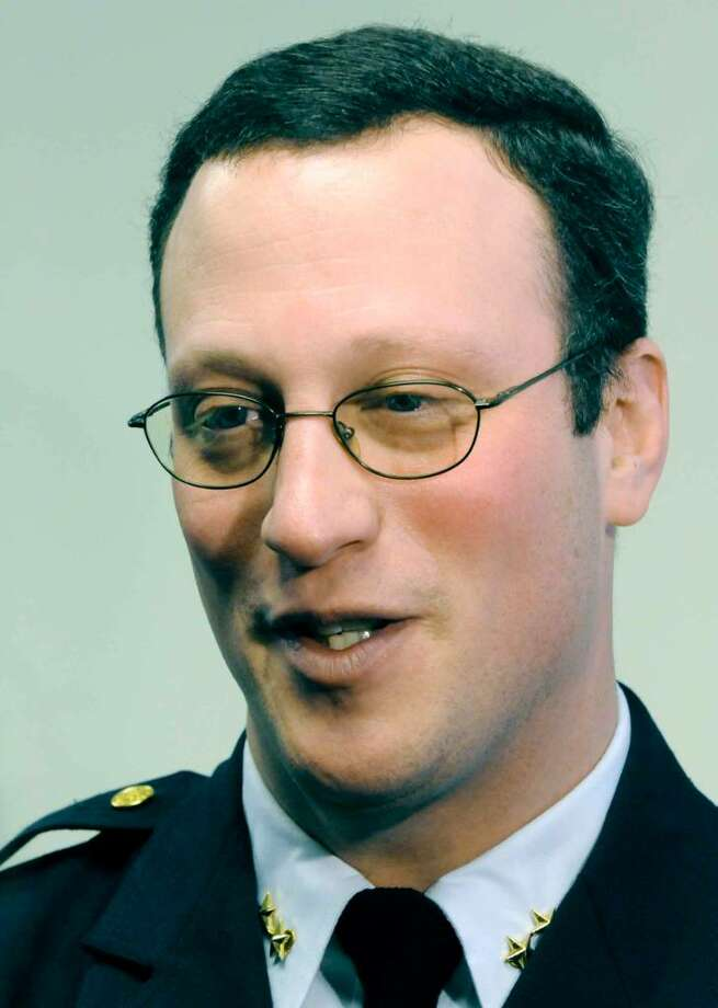 Albany Deputy Chief Stephen Krokoff Photo: MICHAEL P. FARRELL / 00007438A