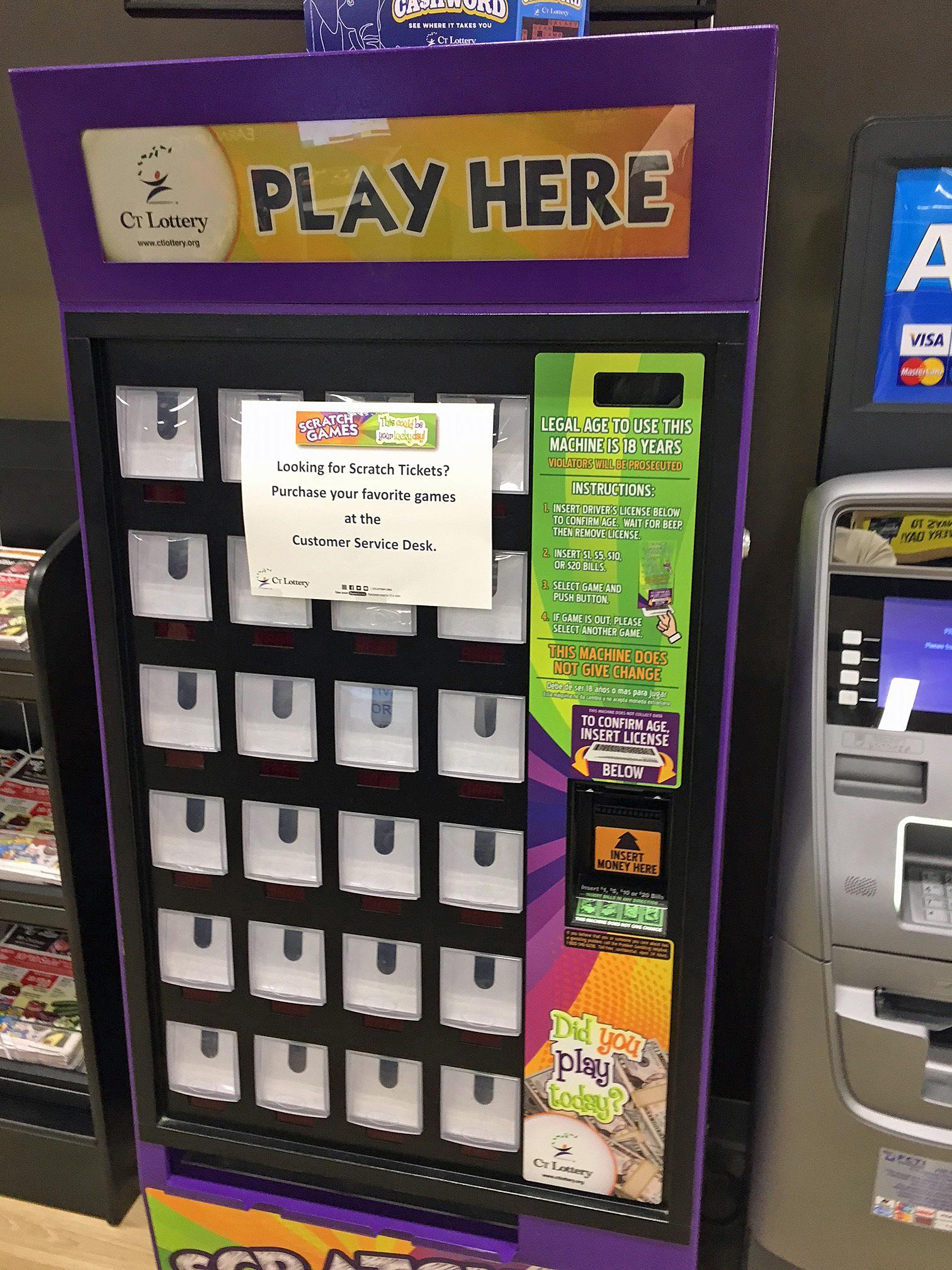 Lottery rolling out hi-tech vending machines to sell tickets