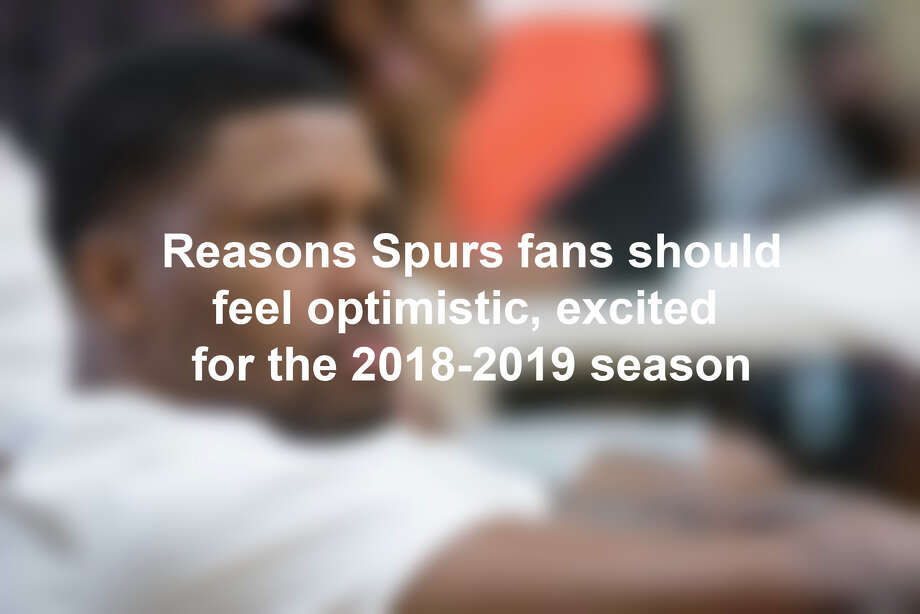 Click through the slideshow to see why Spurs fans should be excited for the 2018-2019 season Photo: André Chung / © 2018 André Chung/ all rights reserved