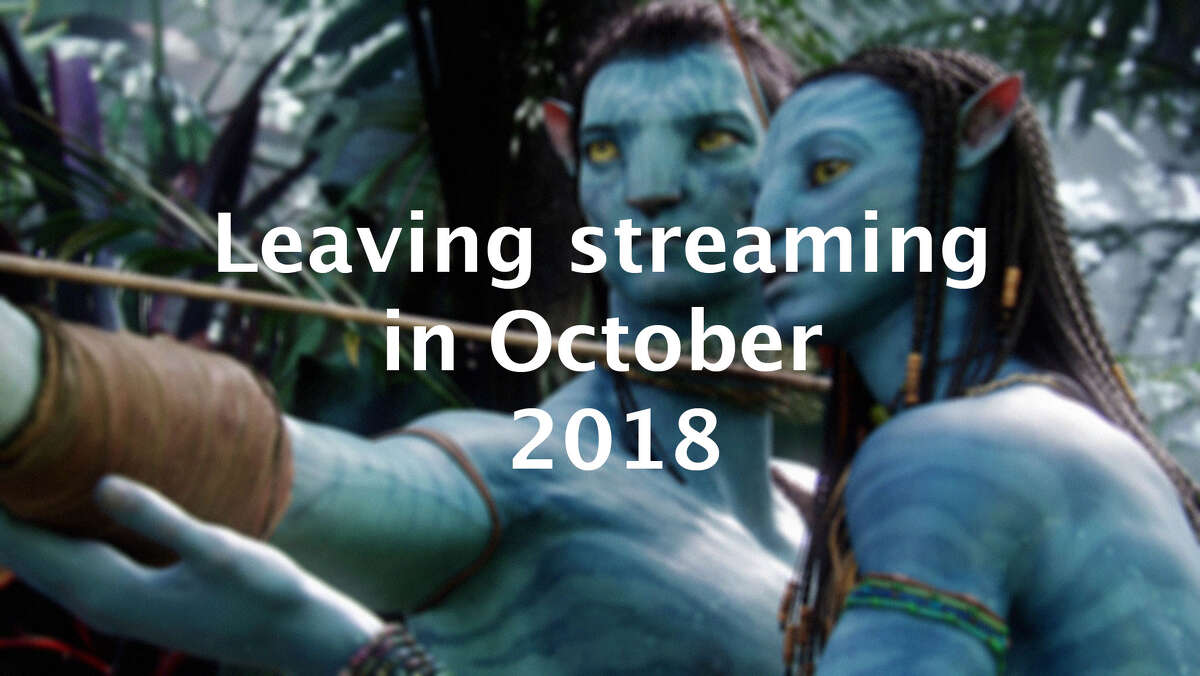 Here's what is leaving streaming services in October 2018.