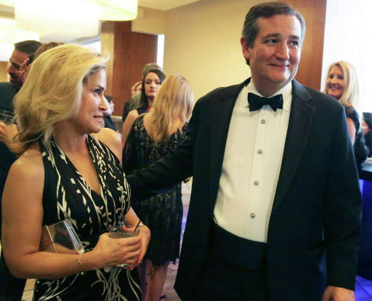 Texas Senator Ted Cruz and wife Heidi in 2016. >>See images taken as the couple were heckled out of a D.C. restaurant...
