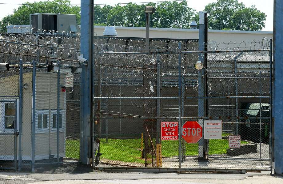 A view of an entrance to the Bridgeport Correctional Center located on North Avenue in Bridgeport, Conn., on Friday July 10, 2015. The BCC is a high-security facility which houses about 950 inmates. Due to a decline in the prison population, the Connecticut Department of Correction with be closing down the center's Fairmont Unit. Photo: Christian Abraham, Hearst Connecticut Media