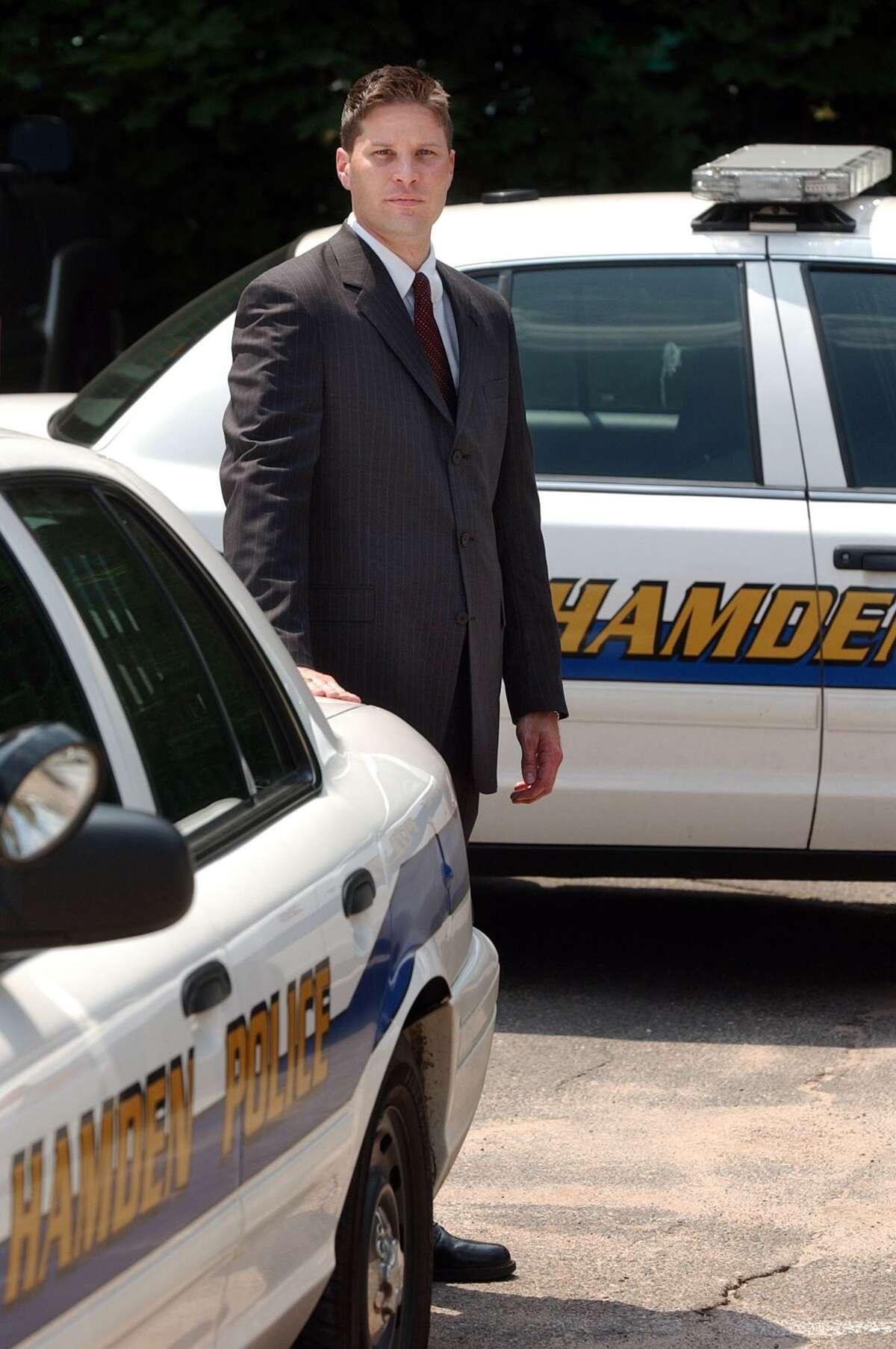 Thomas Wydra, Hamden Police Chief designate. Photo by Mara Lavitt