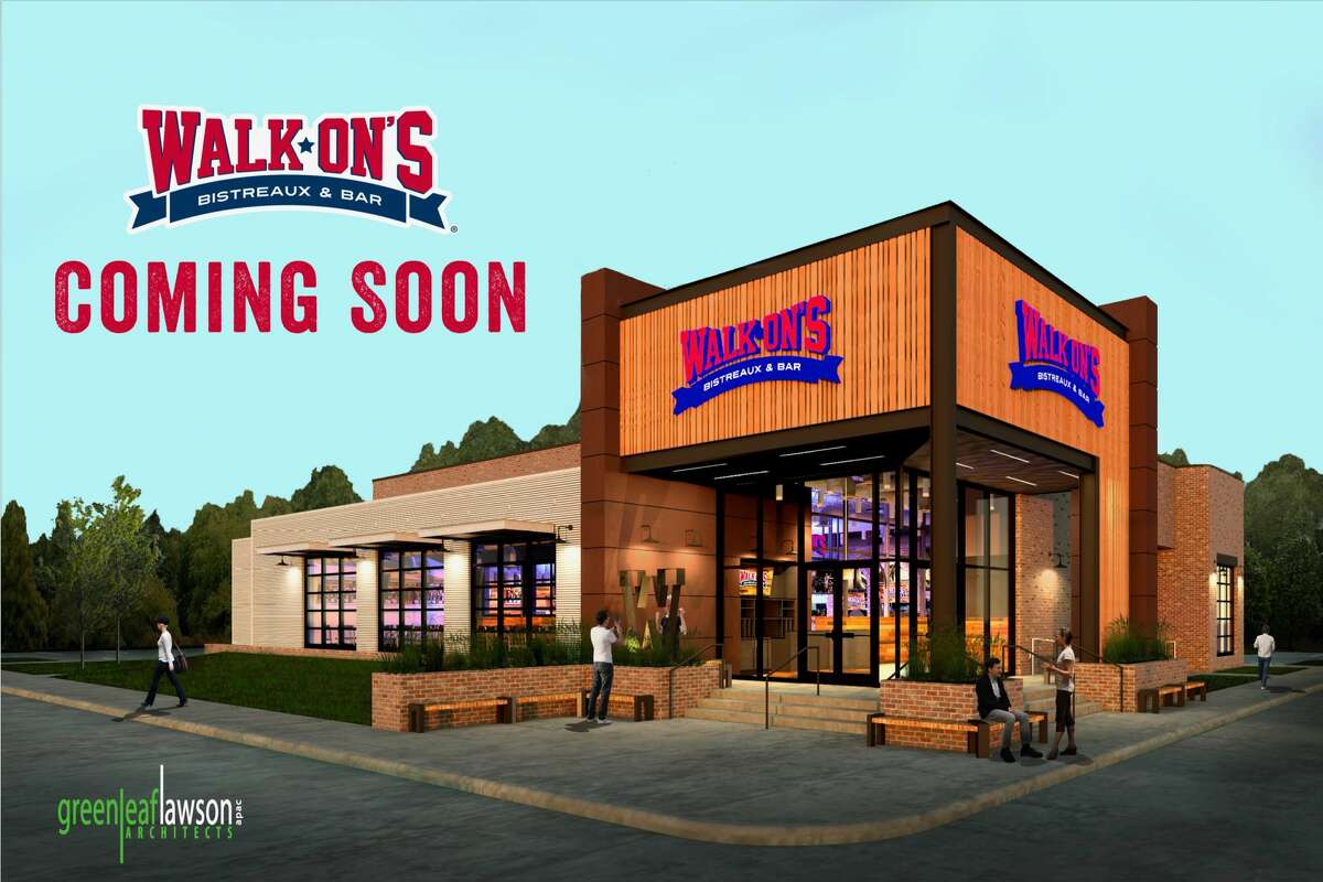 This is a supplied rendering of what the brand-new Walk-On's location is set to look like in Spring when it opens early next year.