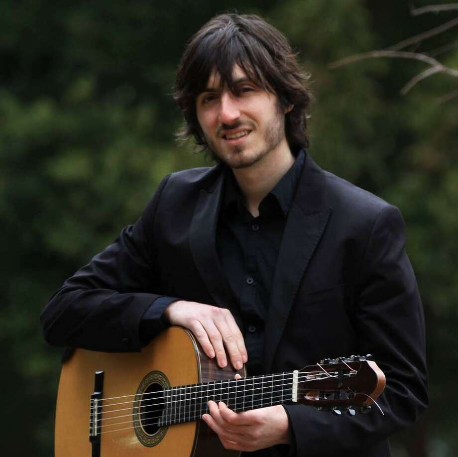 Community Music School recently welcomed a new musician to its faculty: Francesco Barone, who will be teaching guitar, mandolin, banjo, and ukulele at the Centerbrook location. Photo: Contributed Photo
