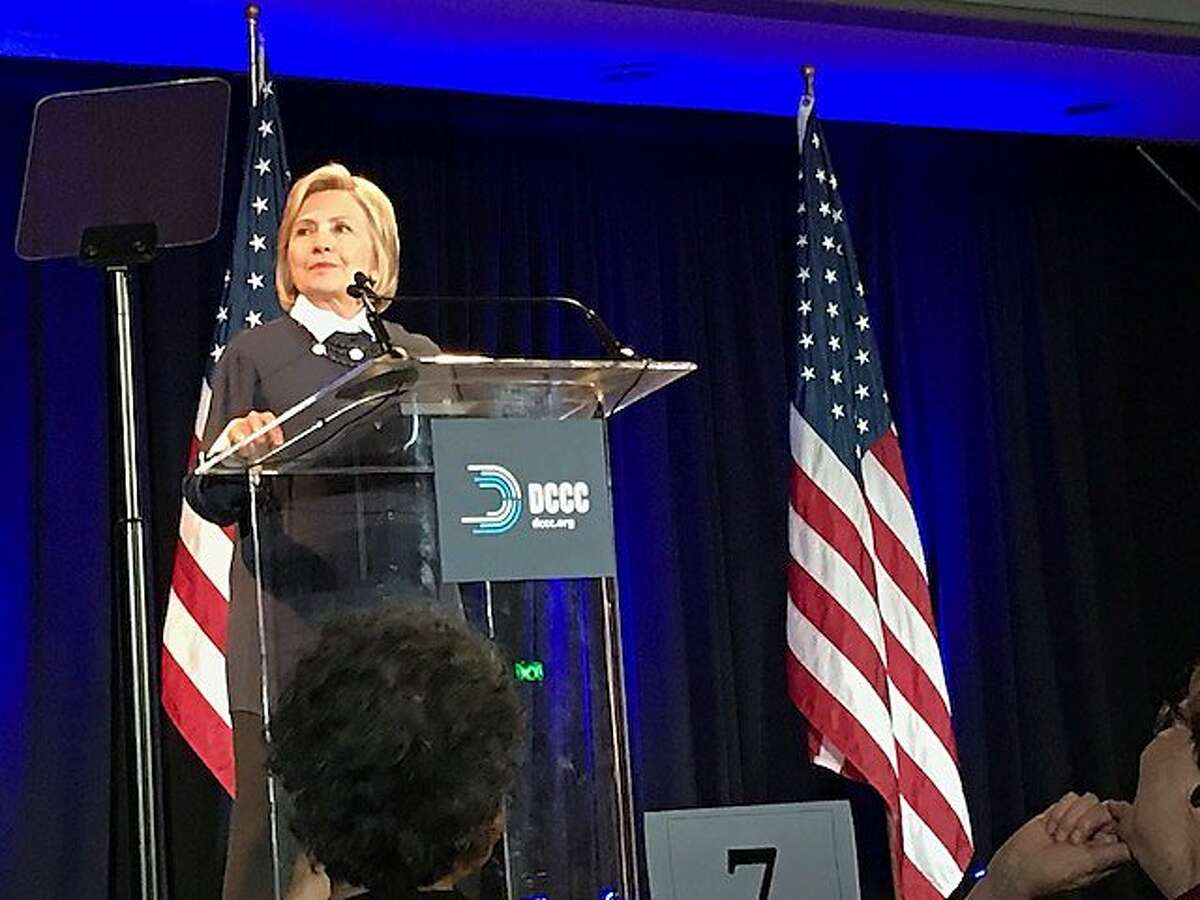 Hillary Clinton speaks at women's DCCC lunch