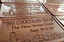 Noteworthy Chocolates of Bethel has been asked to create chocolate engraved business cards to hand out during the press preview later this week at the Big Chocolate Show in New York City.