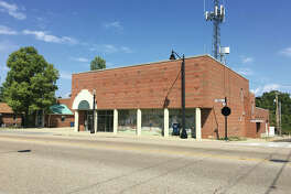 The old Edwardsville Public Safety Building on North Main Street.