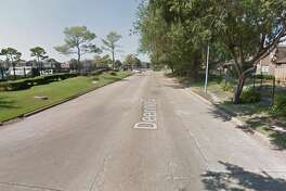 Google Street View image of the 9500 block of Deering Drive.