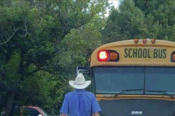 Videos and photos of Pasadena ISD bus driver Nathanial George went viral earlier this week after he was seen helping students cross the street.
