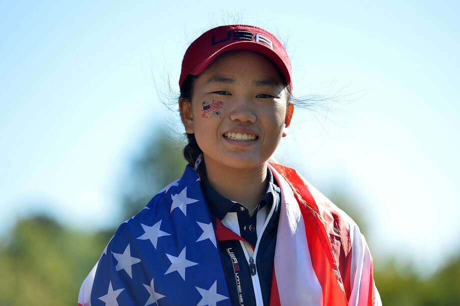 Lucy Li Of Team Usa Poses During The Singles On Tuesdays Second Day Of The 2018