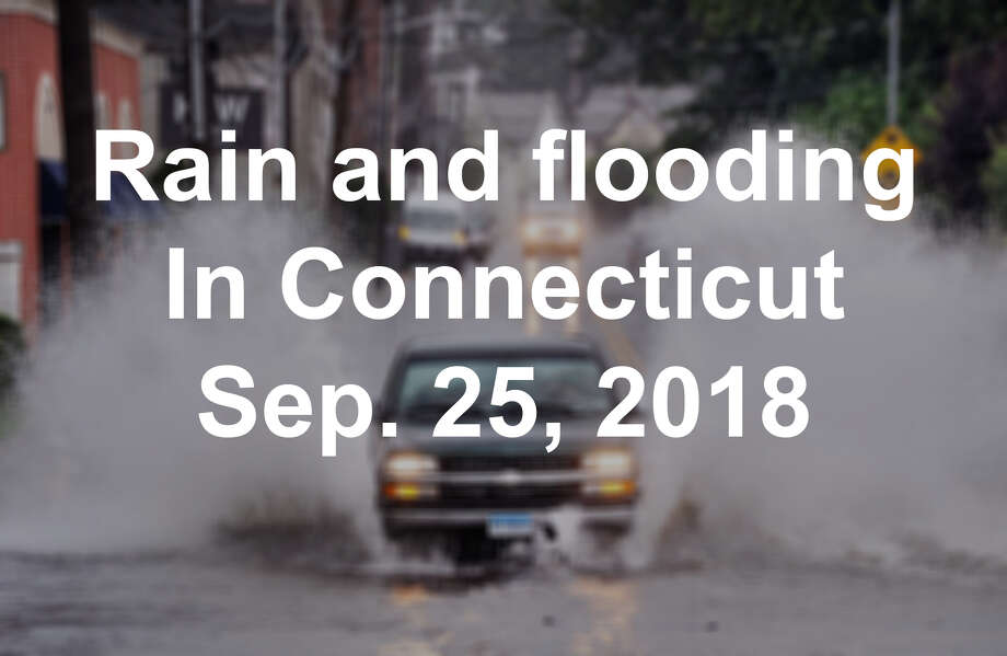 >>>Click through the slideshow to see rain and flooding photos from Sept. 25, 2018 >>> Photo: Contributed / Greenwich Time