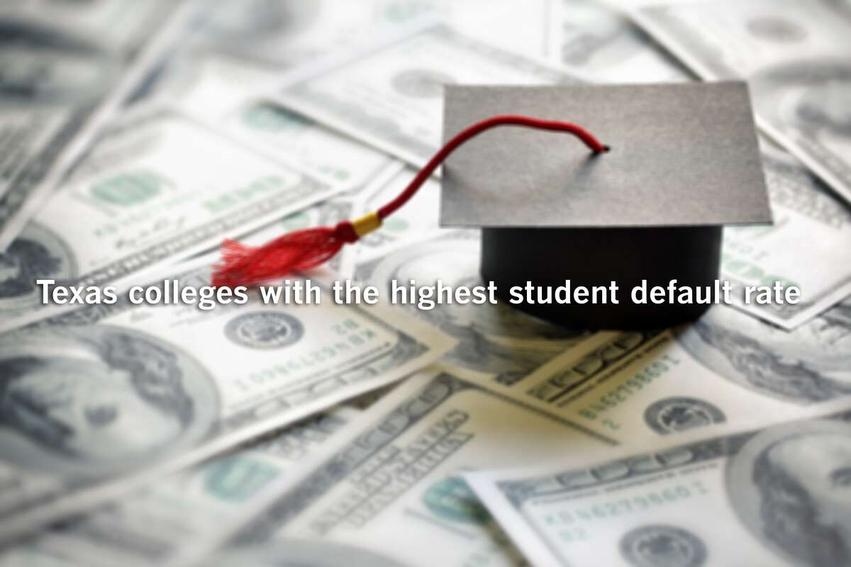 Texas colleges with the highest student default rate