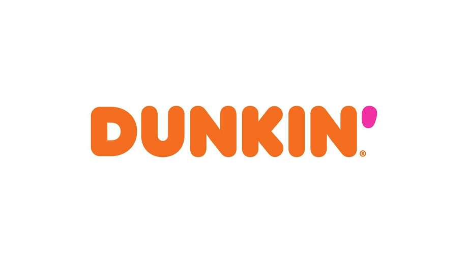 """This undated image provided by Dunkin' shows a new Dunkin' logo that will be in restaurants in January 2019. Dunkin' is dropping the donuts — from its name, anyway. Doughnuts are still on the menu, but the company is renaming itself """"Dunkin'"""" to reflect its increasing emphasis on coffee and other drinks. (Dunkin' via AP) / Dunkin' Donuts"""