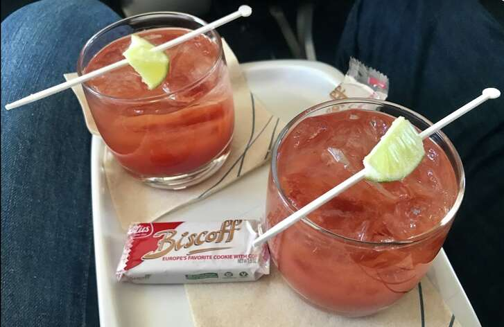 Bloody Mary's on Delta Air Lines