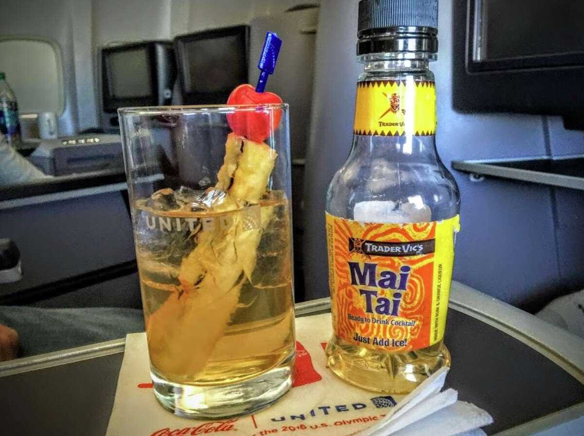 Mai-tai on United Airlines