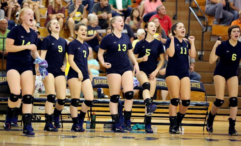 EPBP at Bad Axe — Volleyball Photo: Paul P. Adams/Huron Daily Tribune