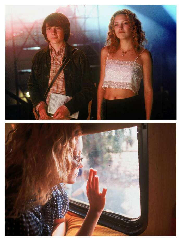 (GANNETT PHOTO NETWORK) MOV-ALMOSTFAMOUS: Patrick Fugit, left, and Kate Hudson in a scene from the motion picture 'Almost Famous' (top photo). Kate Hudson in a scene from the motion picture 'Almost Famous' (bottom photo). (GNS Photo) Photo: NEAL PRESTON / DREAMWORKS