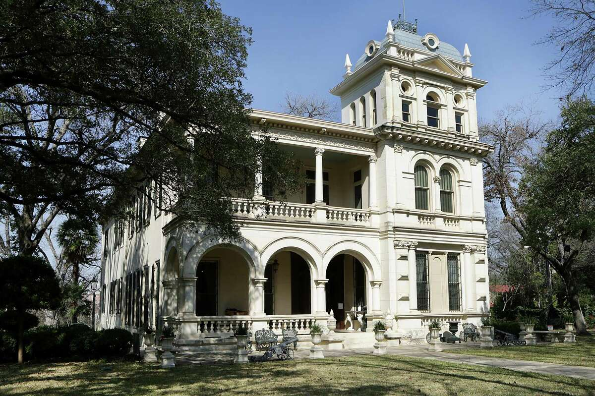 Villa Finale, the Italianate mansion in the King William District, that is the only site in Texas owned by the National Trust for Historic Preservation. It has reopened for short, first-floor tours after it had been closed for six months due to the novel coronavrus pandemic.