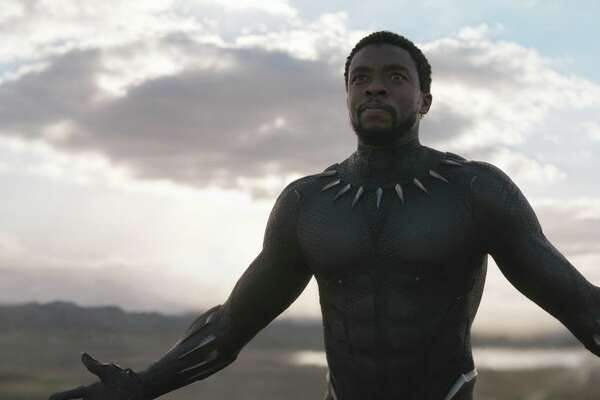 """2018 sci-fi, fantasy and geek movies to get excited about Here come the heroes -- and the villains, space explorers and dystopian futures. In 2018, """"Black Panther"""" will reign, the Avengers will assemble for an """"Infinity War"""" and Han will go """"Solo,"""" among other big-screen happenings. Get """"Ready Player One"""" for all the movies coming in the year ahead. The year's first big hit is Marvel's Afro-futuristic superhero spectacular """"Black Panther"""". Ryan Coogler directs Chadwick Boseman, Michael B. Jordan, Lupita Nyong'o, Daniel Kaluuya, Angela Bassett, Forest Whitaker and Andy Serkis in this superhero smash that took over a billion dollars."""