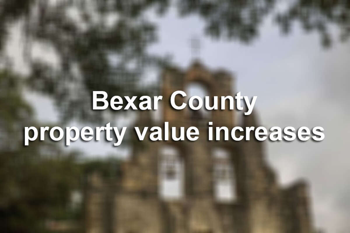 Average property value increased by more than 20 percent from last year in four Bexar County ZIP codes, according to data from the Bexar County Appraisal District, with some homeowners seeing their appraised values double. Click through to see the 20 zip codes with the highest average property market value increases from 2017 to 2018.