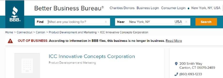 Photo: Better Business Bureau
