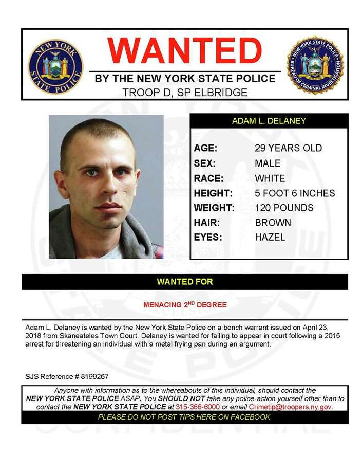 Adam L. Delaney Photo: New York State Police
