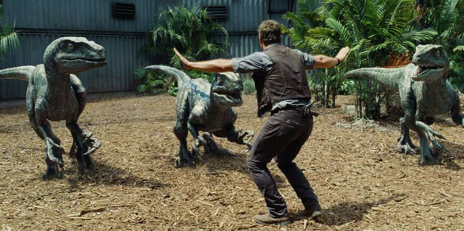 "In this image released by Universal Pictures, Chris Pratt appears in a scene from ""Jurassic World."" After a lackluster 2014 summer, Hollywood has bounced back with one of its best seasons ever. Photo: Universal Pictures / Via Associated Press / Universal Pictures"