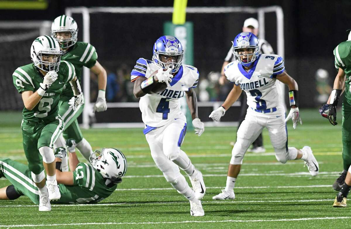 Bunnell at New Milford High School football on Sept. 21.
