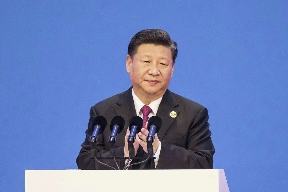 Chinese President Xi Jinping applauds ahead of delivering a speech at the Boao Forum for Asia Annual Conference in Boao, China, on April 10, 2018. Photo: Bloomberg Photo By Qilai Shen. / © 2018 Bloomberg Finance LP