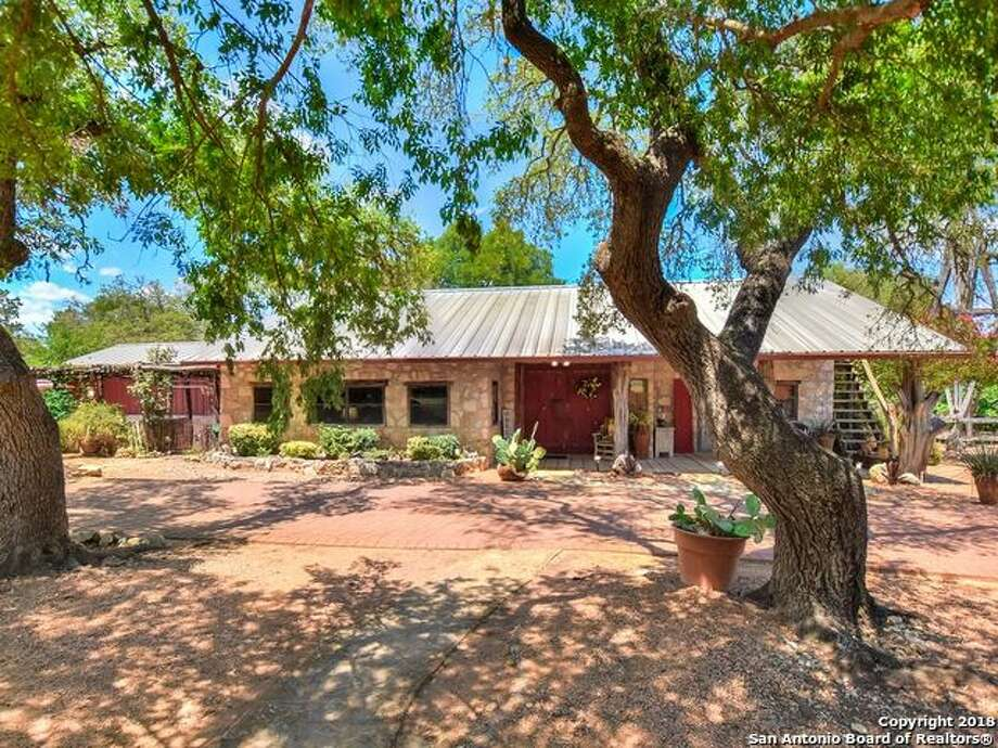 A Boerne bed and breakfast for sale was listed among the most viewed properties on New York Times realty in August, 2018. The property, located at 106 Marquardt Road, features three bedrooms, three bathrooms, three private hot tubs, two fire pits, a chicken coop and more. Photo: Har.com