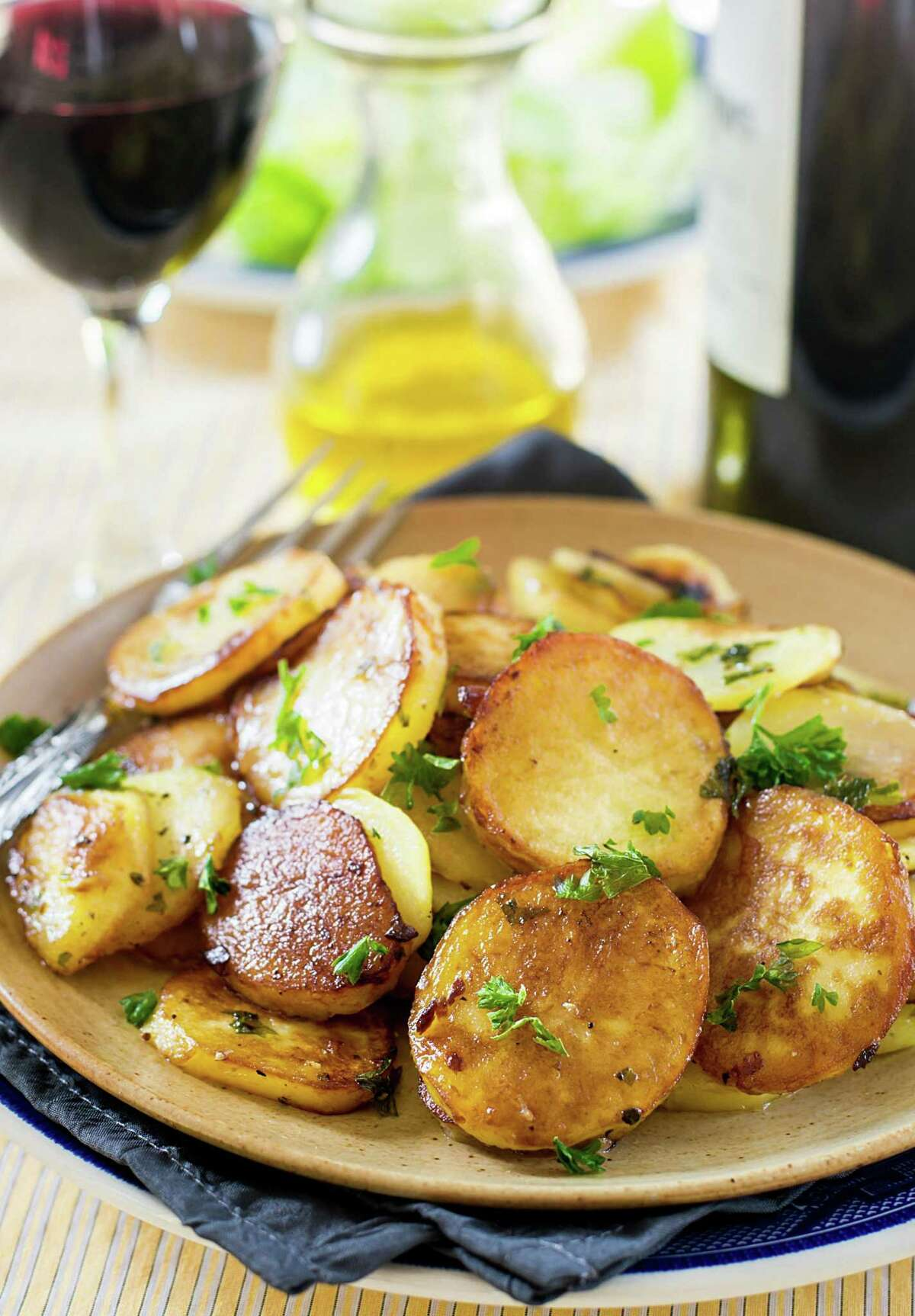 Potatoes Cooked in Duck Fat
