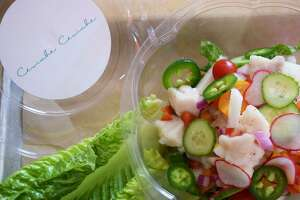 Ceviche Ceviche, a new fast-casual restaurant concept from Sangria on the Burg chef Ceasar Zepeda, will open Oct. 15 at 18360 Blanco Road, Suite 120.