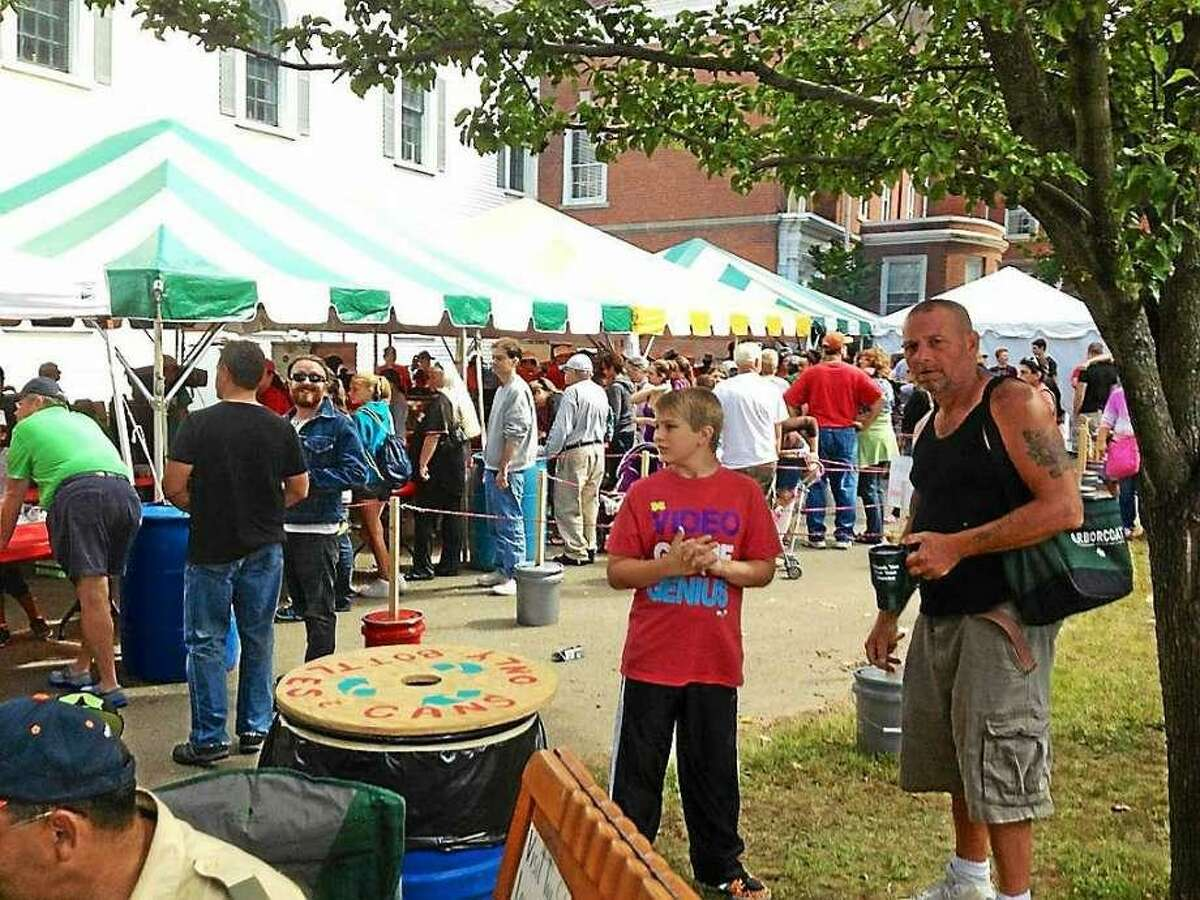 Scenes from past West Haven Apple Festivals.